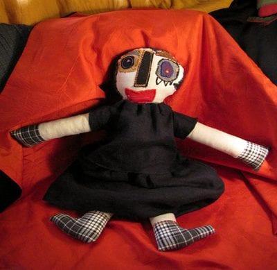 La signora col vestito di lino